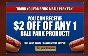 Ballpark Coupon