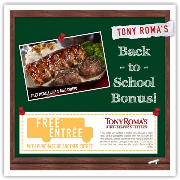 Roma cafe coupons