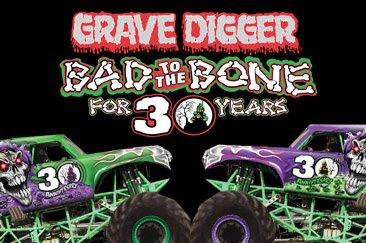 Grave digger monster jam