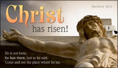 Happy Easter :: Christ Has Risen!
