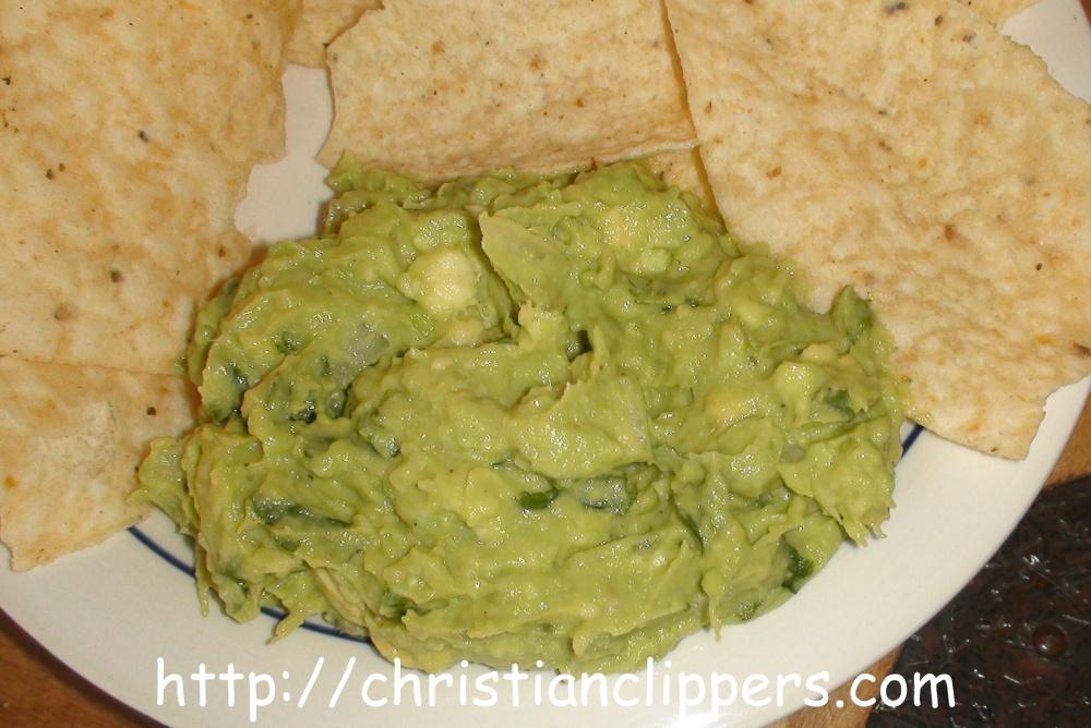 Recipe: Homemade Guacamole Dip | Christian Clippers