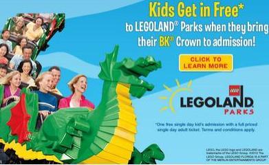 Legoland Admission