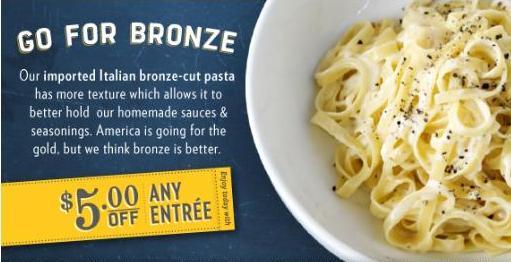 Macaroni Grill Printable Coupon