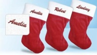 Personalized Holiday Stocking only $7.99 Shipped!