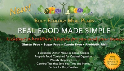 Steps to a Healthier You :: The New Body Ecology Menu Plan