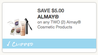 Free Almay Cosmetic Products at Walgreens