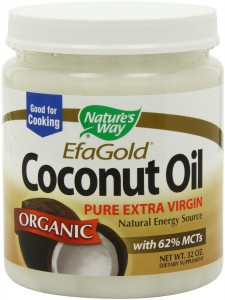 Nature's Way EfaGold Organic Pure Extra Virgin Coconut Oil (32-Ounce Jar) only $13.89 Shipped!