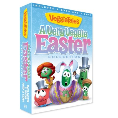 """VeggieTales """"A Very Veggie Easter"""" DVD Collection {Review}"""
