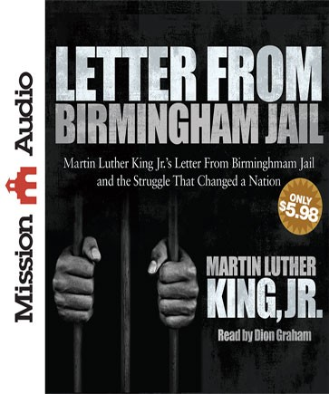 "Free Christian Audio Book ""Letter from Birmingham Jail"" by Martin ..."