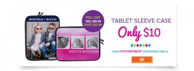 Custom Photo Tablet Sleeve Case