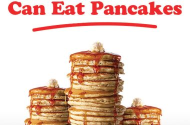 All you can eat pancakes