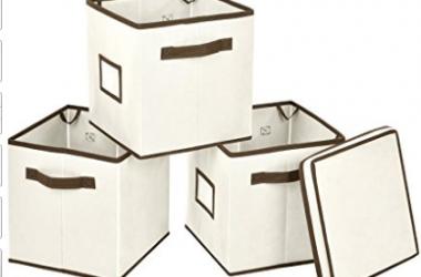 Foldable Storage Bins