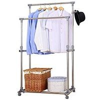 Stainless Steel Garment Rack