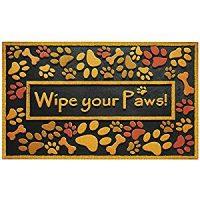 Wipe Your Paws Doomat